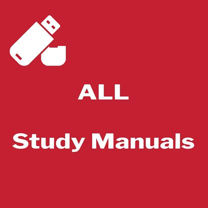 Picture of All Inclusive Study Manual - Flash Drive