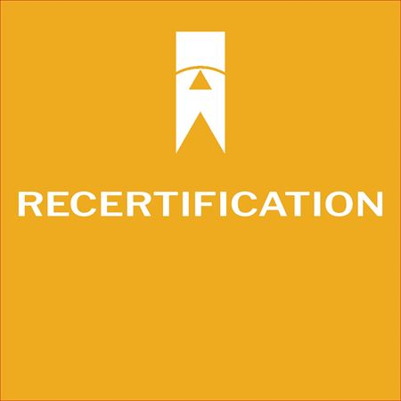 Picture for category Recertification